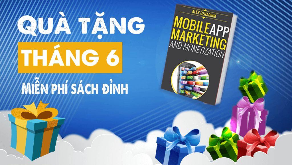 Miễn phí sách đỉnh về Marketing cho Mobile App