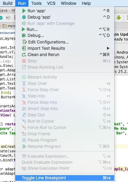 Debug trong Android Studio