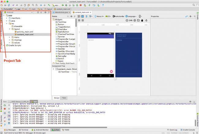 Quản lý dự án trong Android Studio