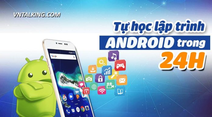 Tu hoc lap trinh android trong 24 gio