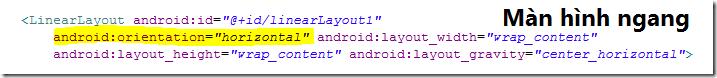 Thiết kế giao diện hỗ trợ đa màn hình trong Android