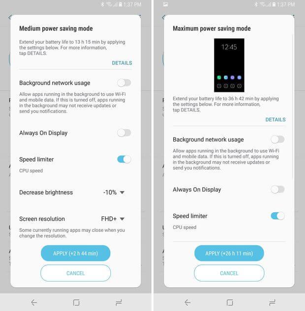 6 mẹo biến Galaxy S9 và S9 Plus thành điện thoại smartphone pin trâu