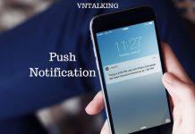 tao push notification voi onesignal