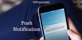 tao push notification voi onesignal