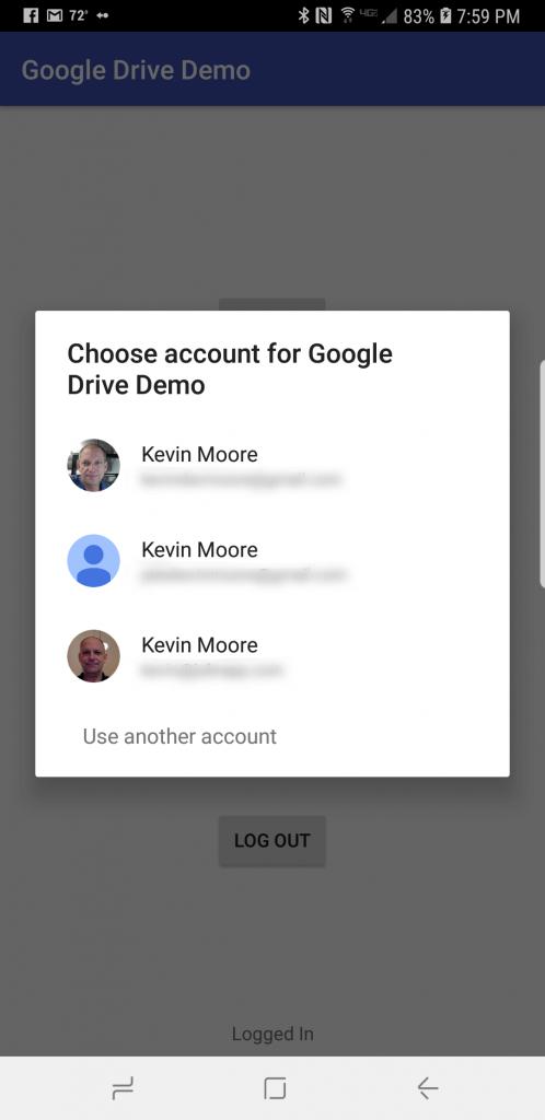 Tích hợp Google Drive SDK vào ứng dụng Android