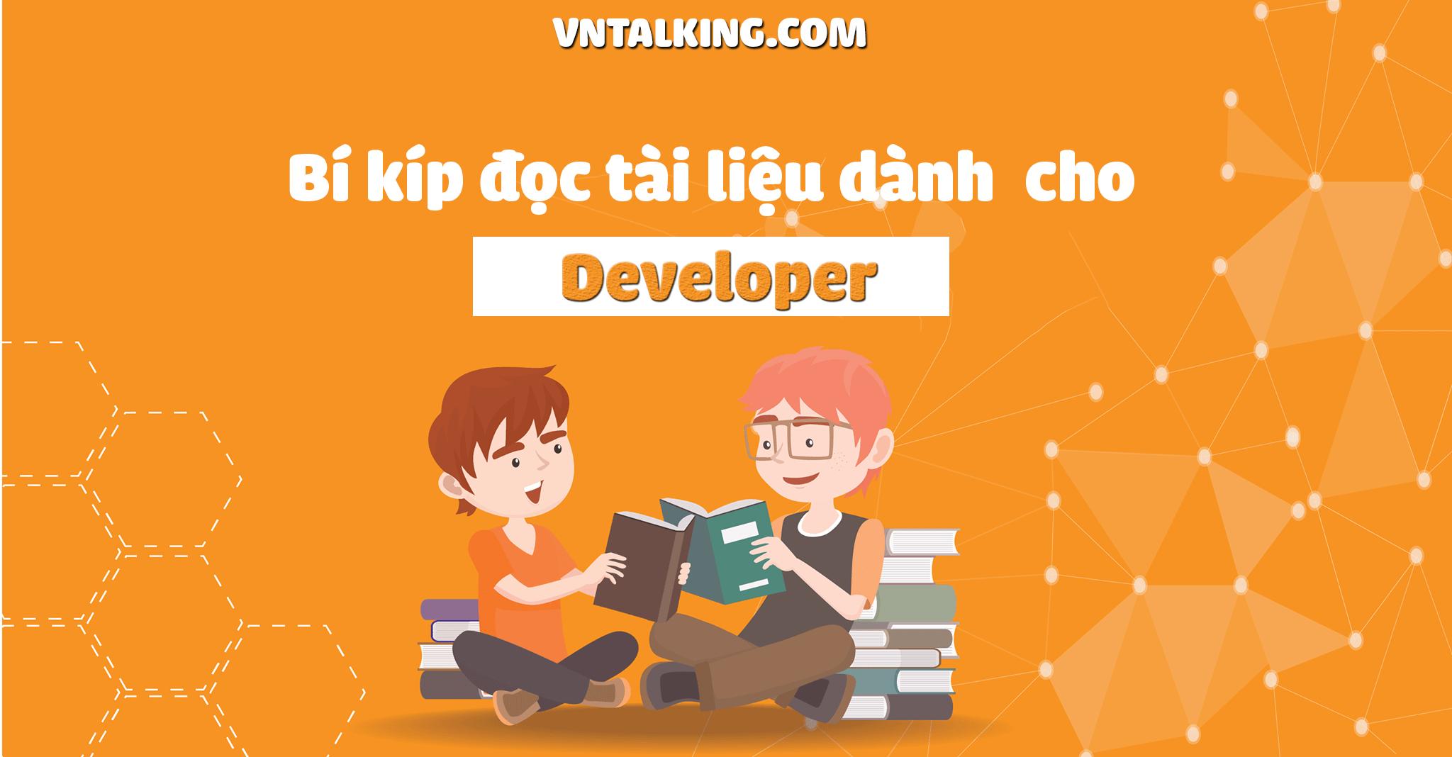 Bí kíp đọc tài liệu để trở thành developer giỏi