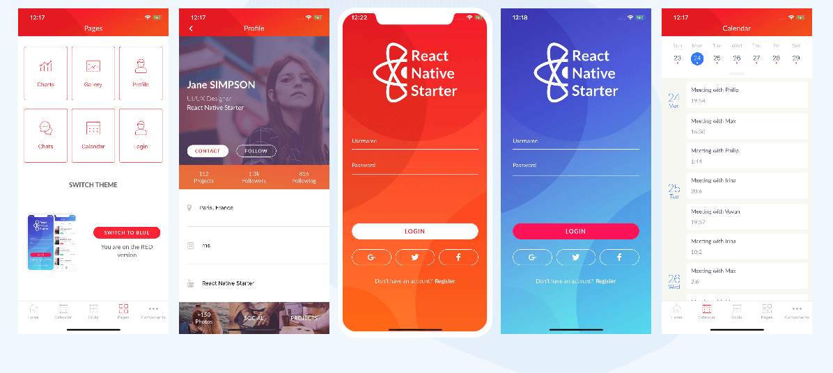 React native Starter Kit là gì?