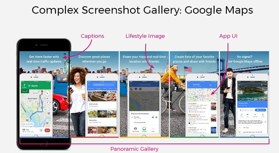 Screenshots giúp tăng tỉ lệ cài đặt ứng dụng đáng kể