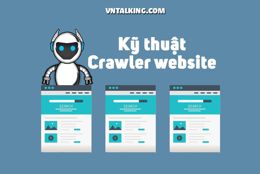 crawl dữ liệu từ các website