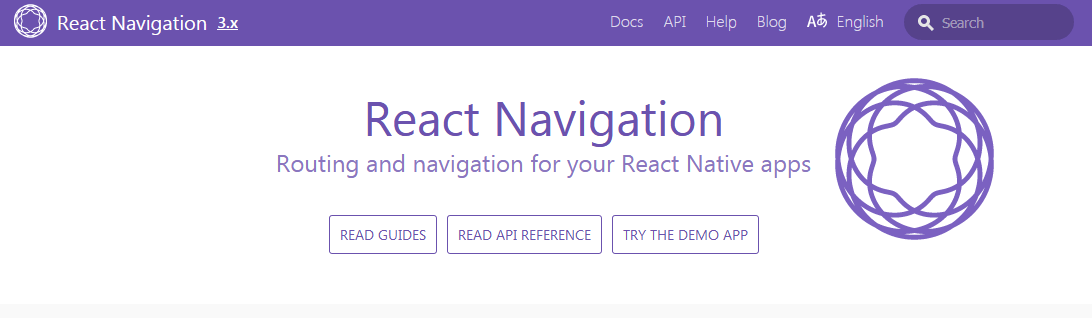 thư viện React Navigation