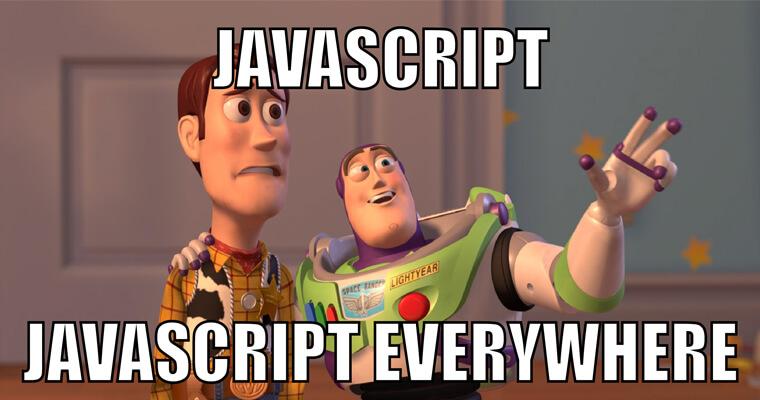 Javascript sử dụng ở mọi nơi