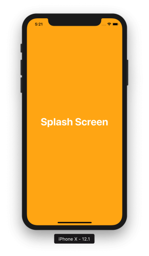 demo splash screen react native