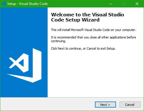 Cài đặt visual studio