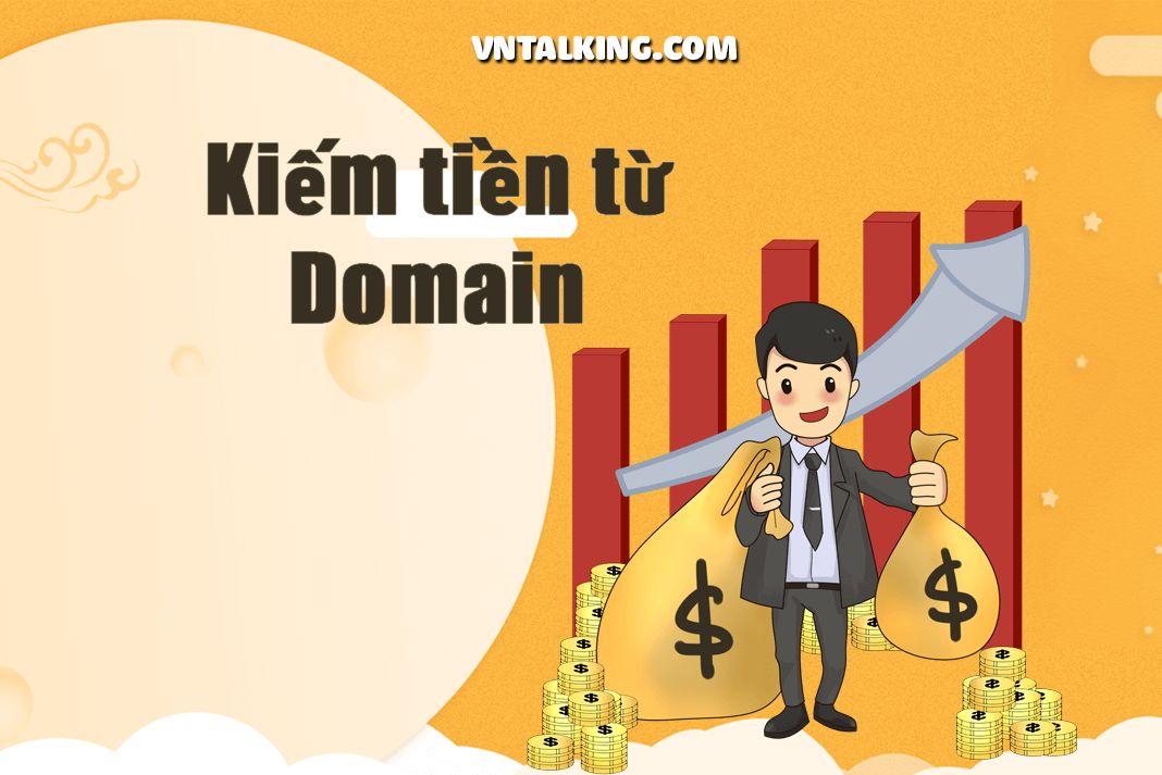 Kiếm tiền online từ domain