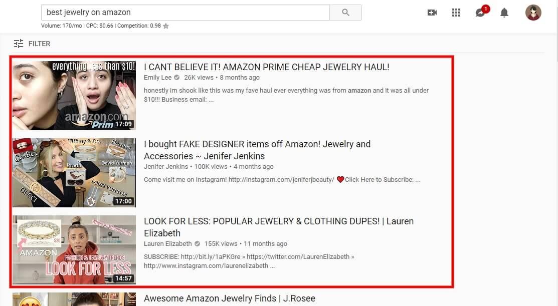 Tìm trend từ video unboxing