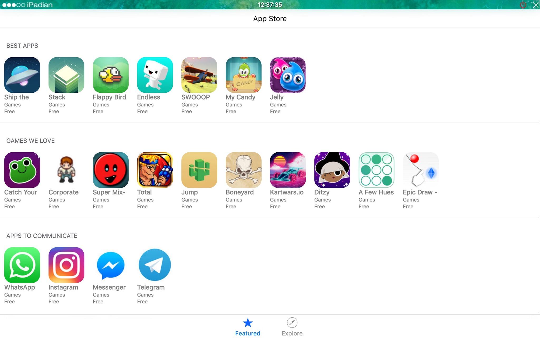 Cài đặt iMessage trên iPadian